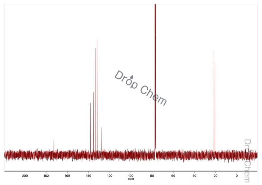 2,5-ジメチル安息香酸の13CNMRスペクトル