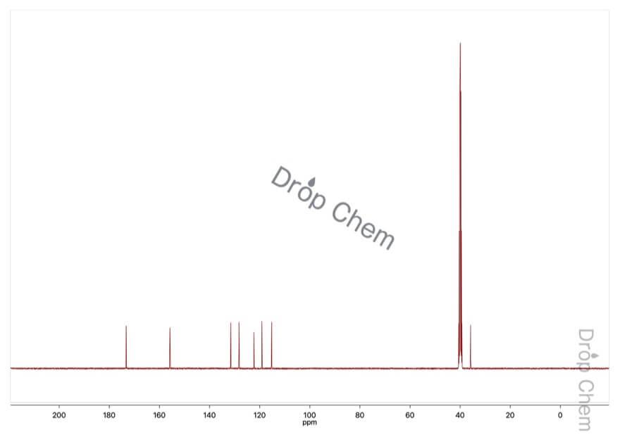 2-ヒドロキシフェニル酢酸の13CNMRスペクトル