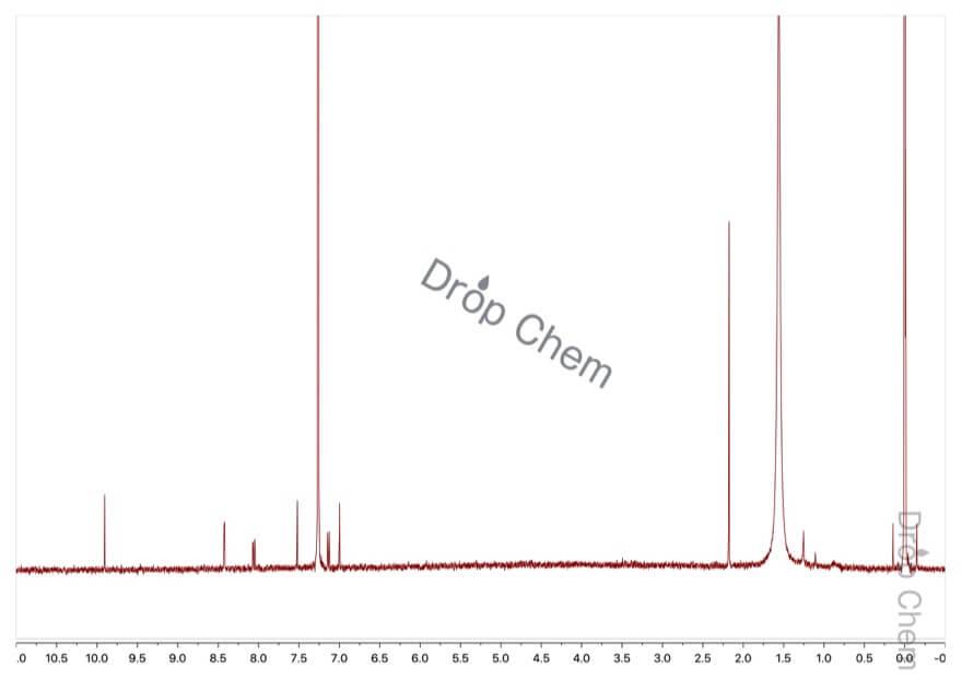 5-ホルミルサリチル酸の1HNMRスペクトル