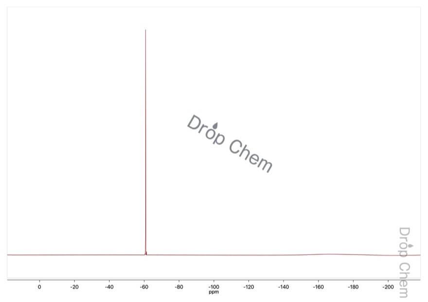 ブロモジフルオロ酢酸エチルの19FNMRスペクトル