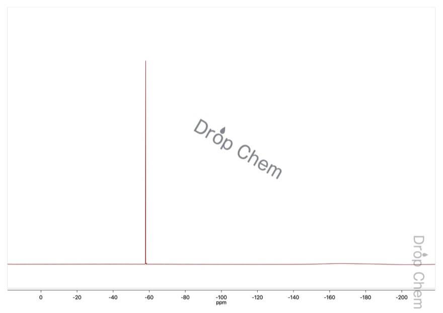 2-(トリフルオロメチル)ベンゾフェノンの19FNMRスペクトル