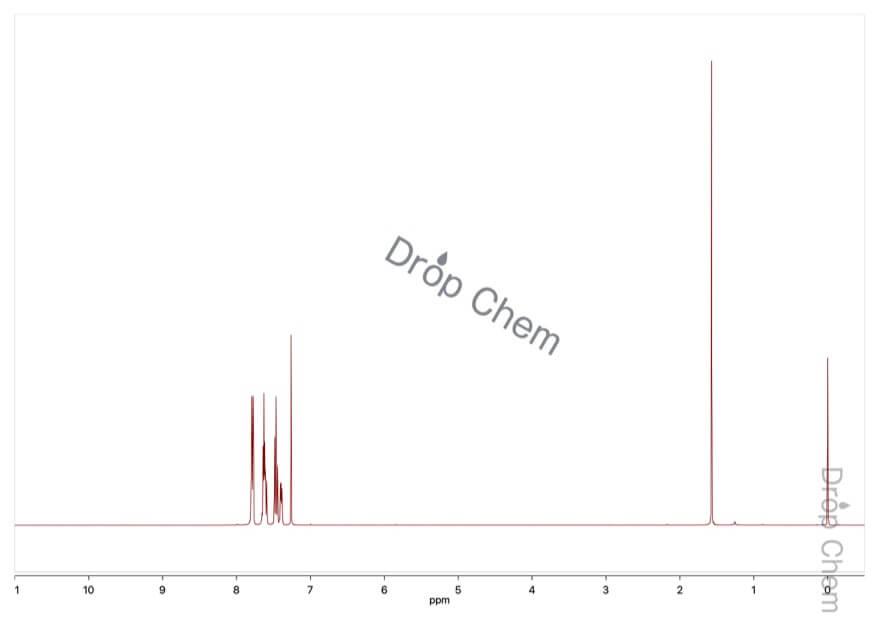 2-(トリフルオロメチル)ベンゾフェノンの1HNMRスペクトル