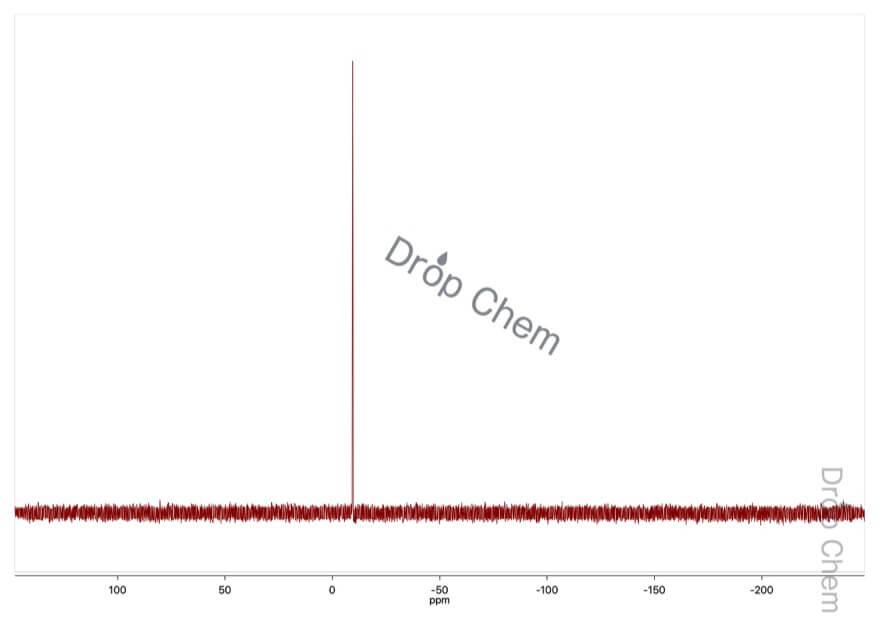 りん酸ジフェニルの31PNMRスペクトル