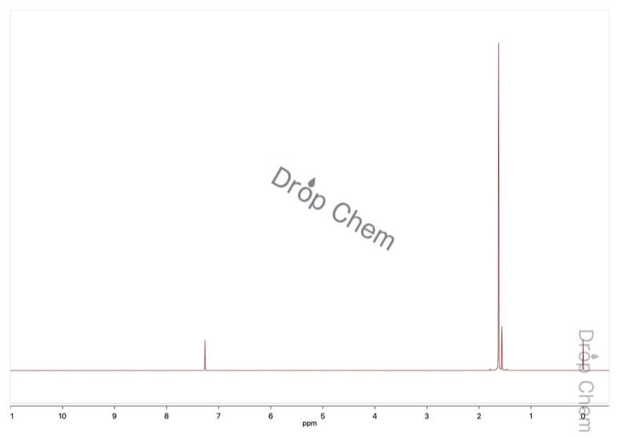 アゾジカルボン酸ジ-tert-ブチルの1HNMRスペクトル