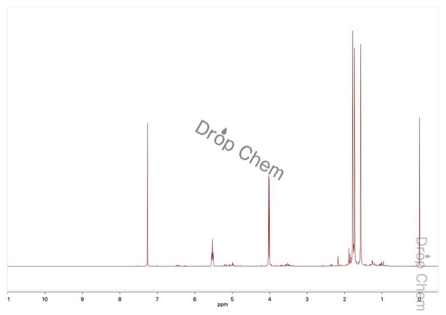 1-ブロモ-3-メチル-2-ブテンの1HNMRスペクトル