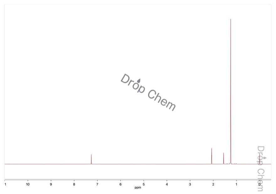3,3-ジメチル-1-ブチンの1HNMRスペクトル