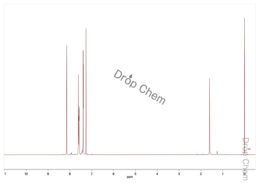 α-ベンズアルドキシムの1HNMRスペクトル