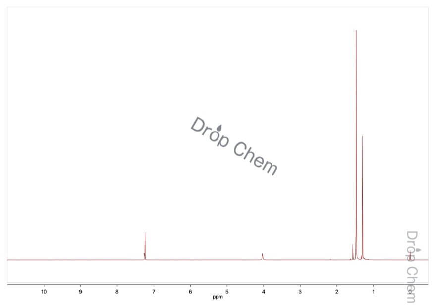 2,4,6-トリ-tert-ブチルアニリンの1HNMRスペクトル