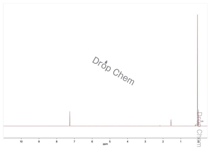 1,1,1,3,3,3-ヘキサメチルジシラザンの1HNMRスペクトル