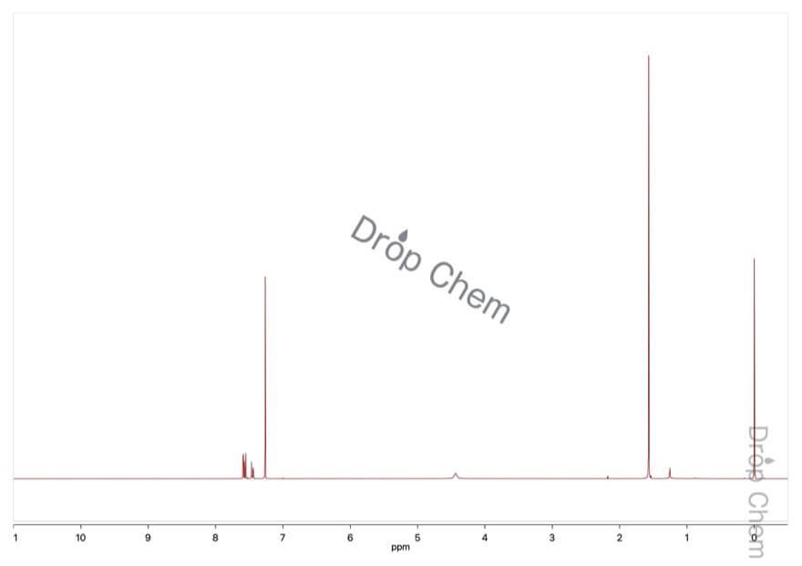 2-ブロモ-5-ニトロアニリンの1HNMRスペクトル