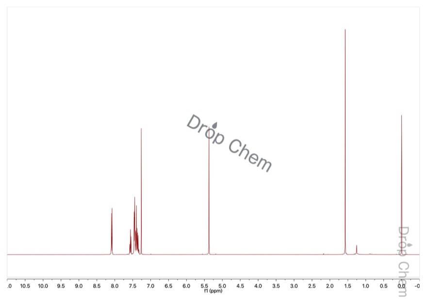 安息香酸ベンジルの1HNMRスペクトル