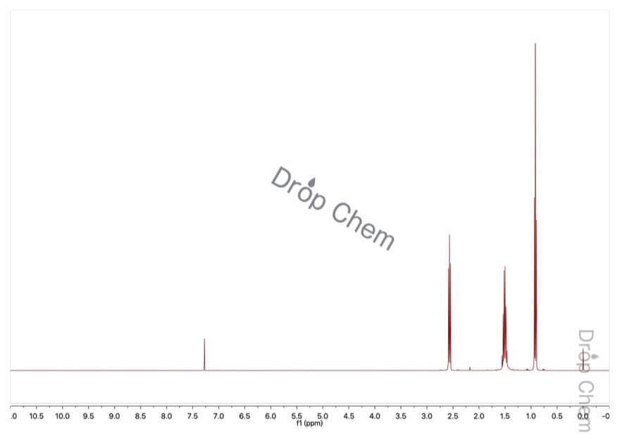 ジプロピルアミンの1HNMRスペクトル
