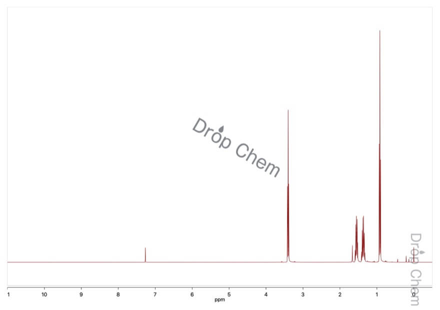 ジブチルエーテルの1HNMRスペクトル