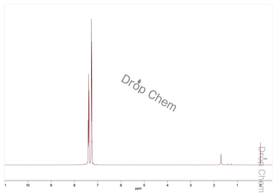 ジフェニルホスホリルアジドの1HNMRスペクトル