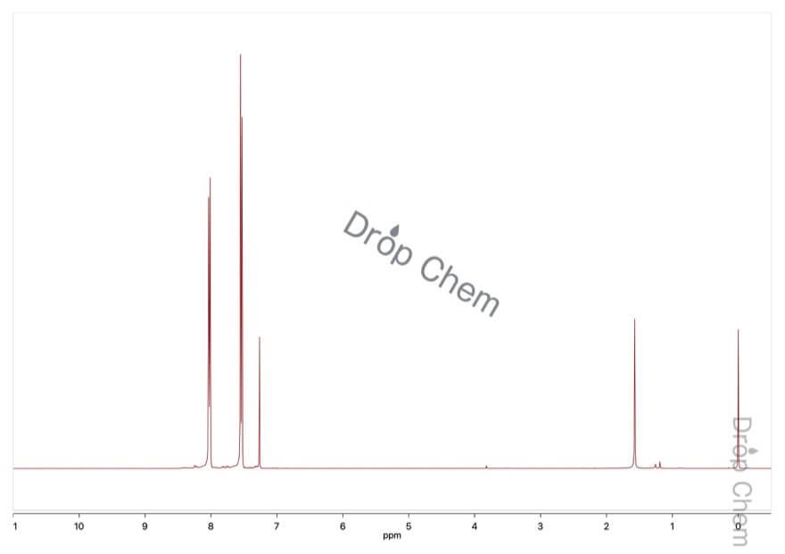 4'-クロロ-2,2,2-トリフルオロアセトフェノンの1HNMRスペクトル