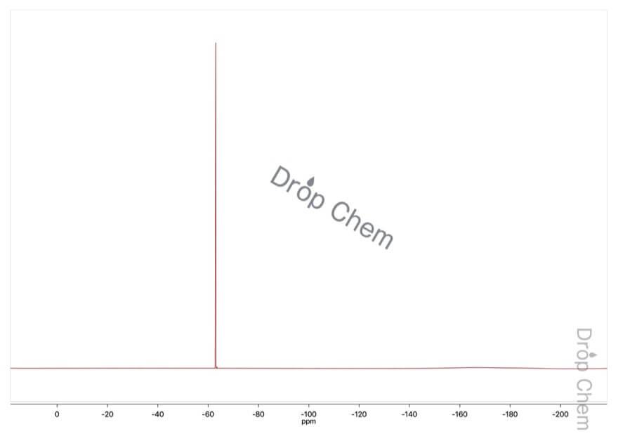 3-メトキシ-5-ニトロベンゾトリフルオリドの19FNMRスペクトル
