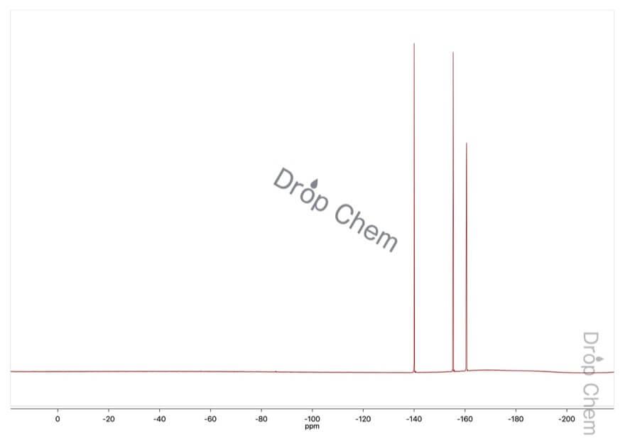 クロロペンタフルオロベンゼンの19FNMRスペクトル