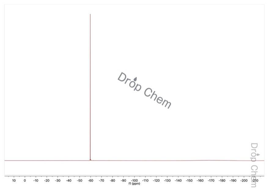 2-(トリフルオロメチル)安息香酸メチルの19FNMRスペクトル