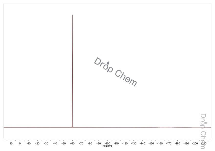 2-(トリフルオロメチル)ベンジルアルコールの19FNMRスペクトル