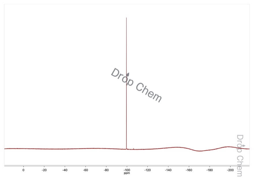 4-フルオロベンゼンスルホニルクロリドの19FNMRスペクトル