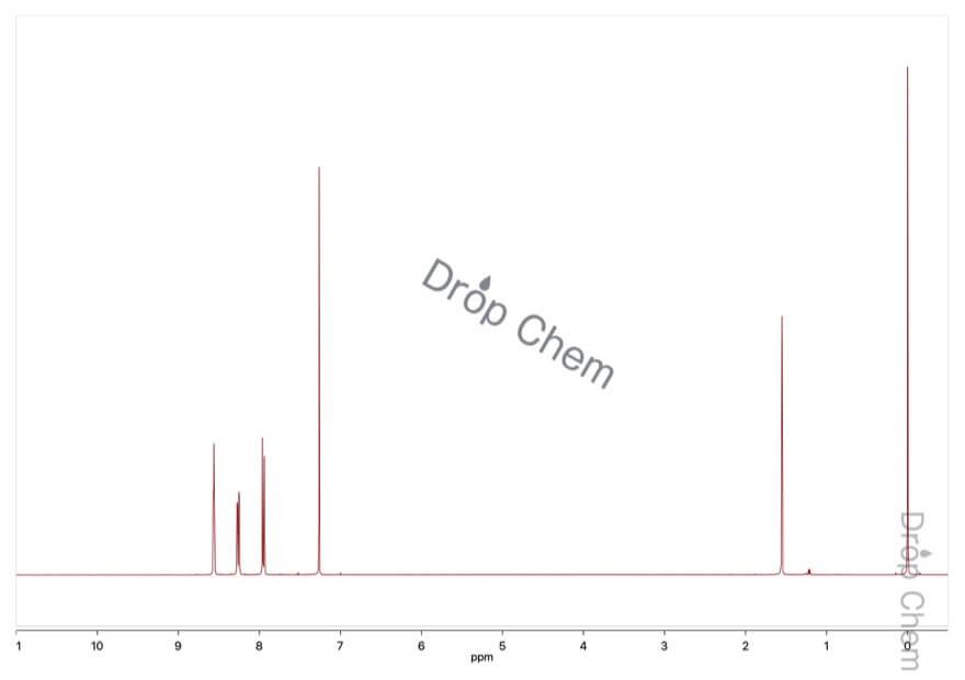 2-ブロモ-5-ニトロベンゾトリフルオリドの1HNMRスペクトル