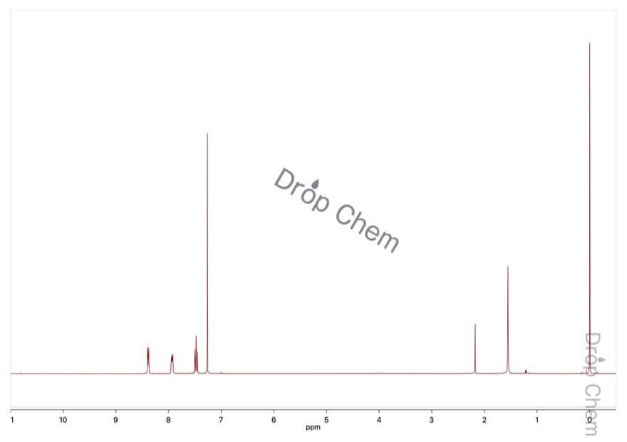 4-フルオロ-3-ニトロベンゾトリフルオリドの1HNMRスペクトル