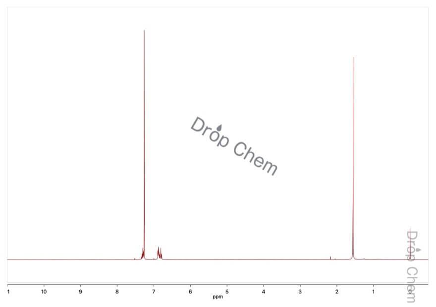 1,3-ジフルオロベンゼンの1HNMRスペクトル