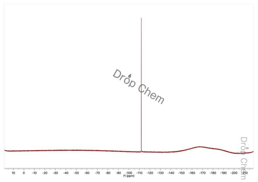 3-フルオロフェノールの19FNMRスペクトル
