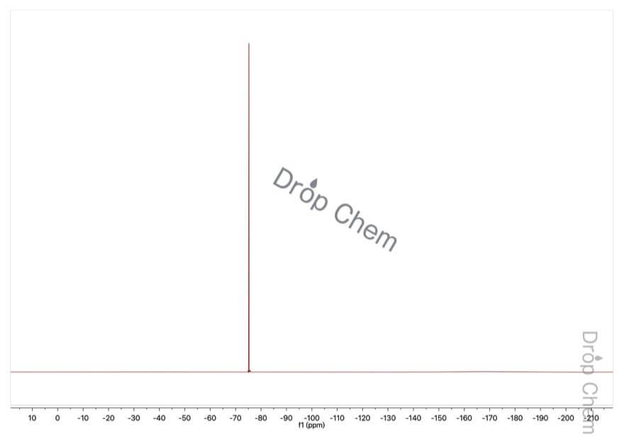 トリフルオロ酢酸エチルの19FNMRスペクトル