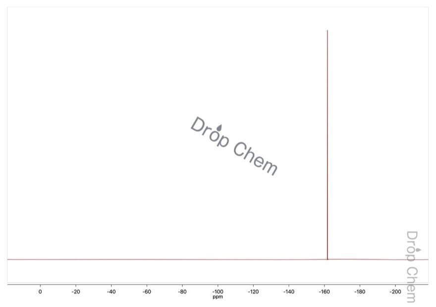 ヘキサフルオロベンゼンの19FNMRスペクトル