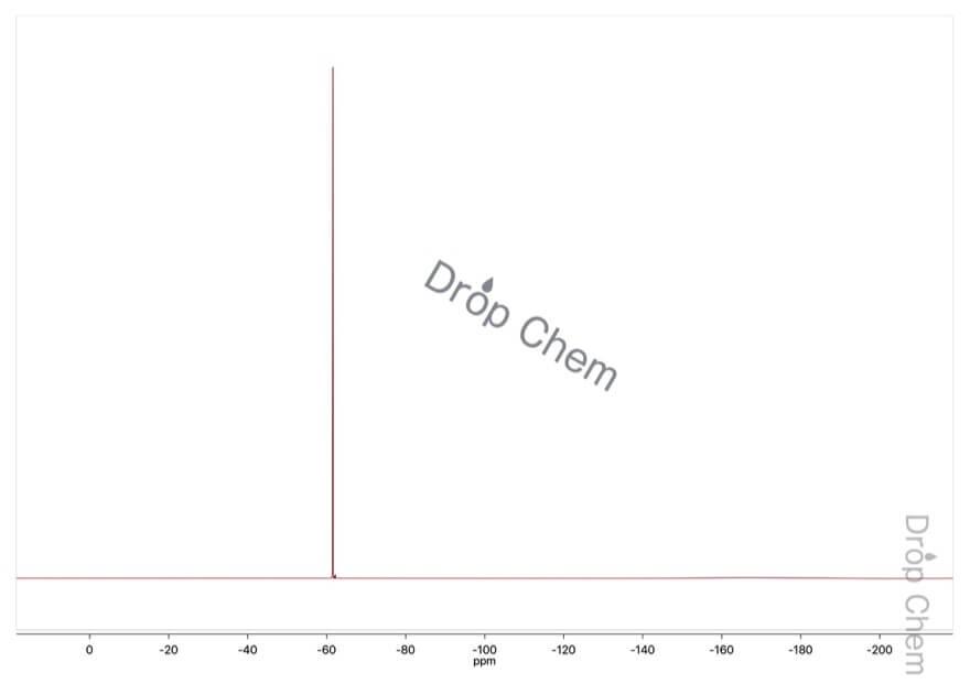 4-ヒドロキシベンゾトリフルオリドの19FNMRスペクトル
