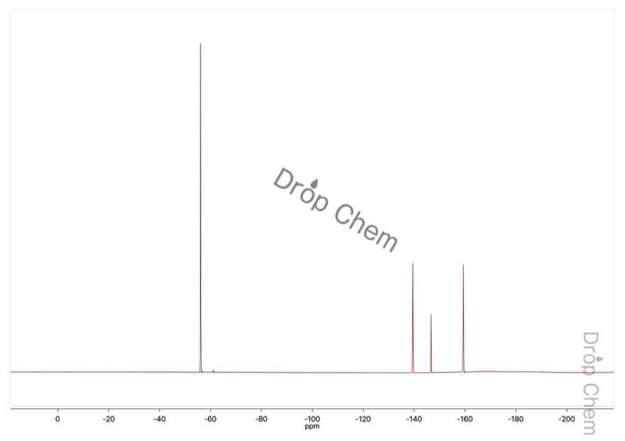 オクタフルオロトルエンの19FNMRスペクトル
