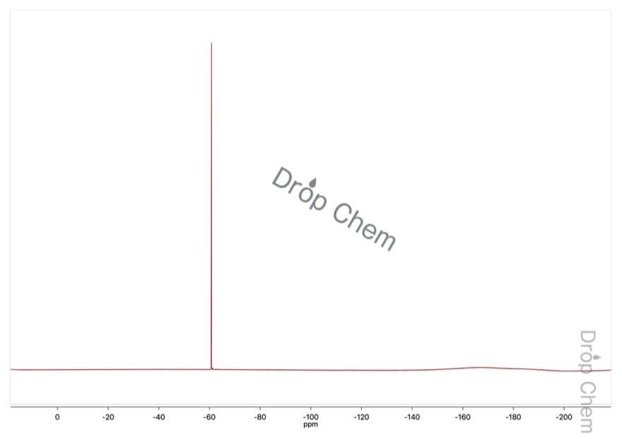 3-クロロ-4-トリフルオロメチルアニリンの19FNMRスペクトル