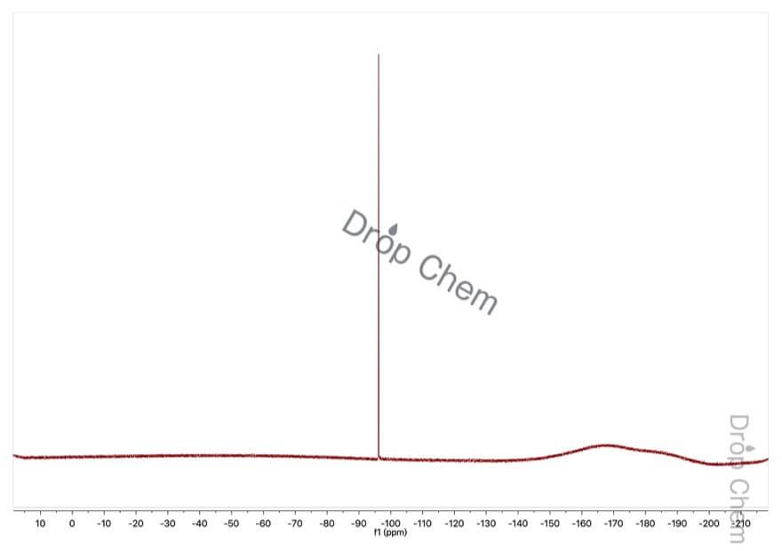 5-フルオロ-2-ニトロフェノールの19FNMRスペクトル