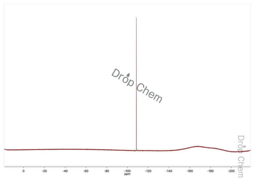 4-フルオロ-3-ニトロ安息香酸の19FNMRスペクトル