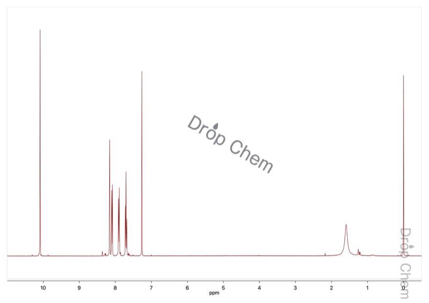 3-(トリフルオロメチル)ベンズアルデヒドの1HNMRスペクトル