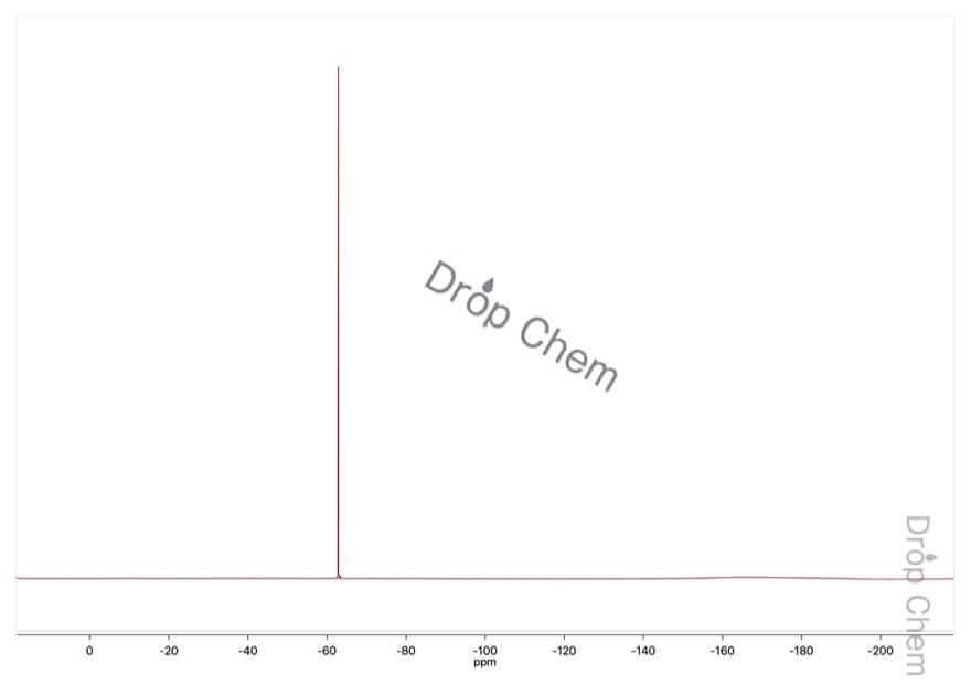 3-(トリフルオロメチル)安息香酸の19FNMRスペクトル