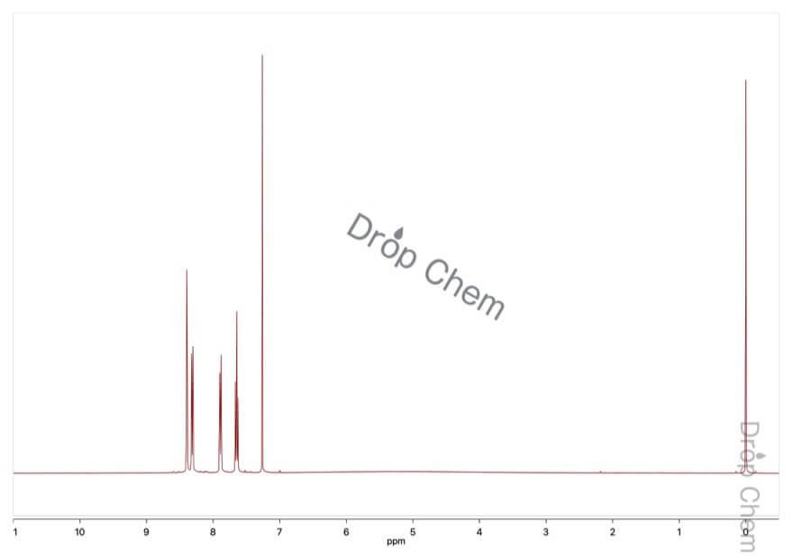 3-(トリフルオロメチル)安息香酸の1HNMRスペクトル