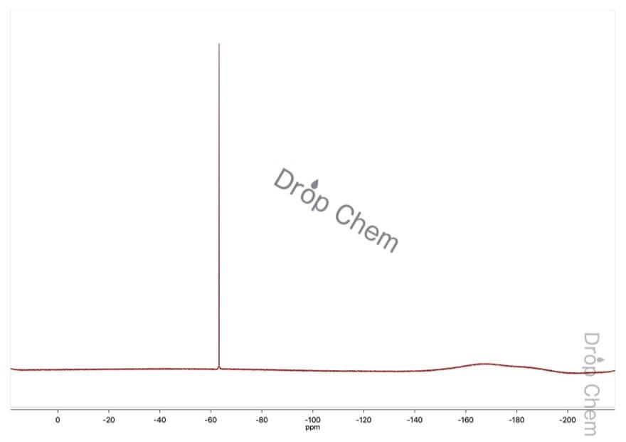 4-(トリフルオロメチル)ベンズアルデヒドの19FNMRスペクトル