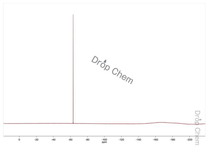 4-(トリフルオロメチル)安息香酸の19FNMRスペクトル