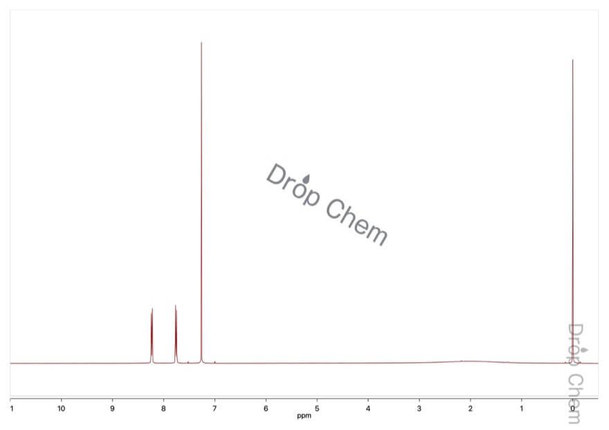 4-(トリフルオロメチル)安息香酸の1HNMRスペクトル