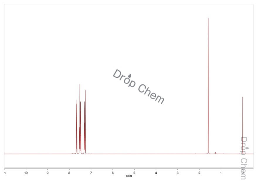 9-フルオレノンの1HNMRスペクトル