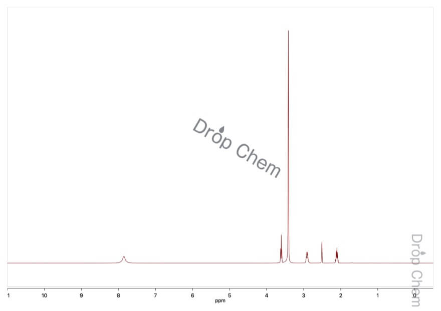 3-ブロモプロピルアミン臭化水素酸塩の1HNMRスペクトル