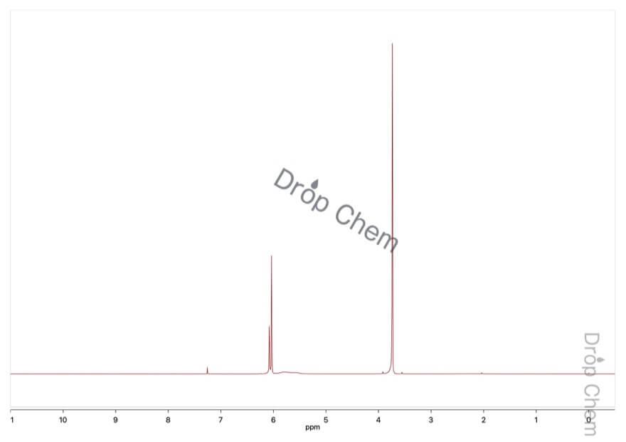 3,5-ジメトキシフェノールの1HNMRスペクトル