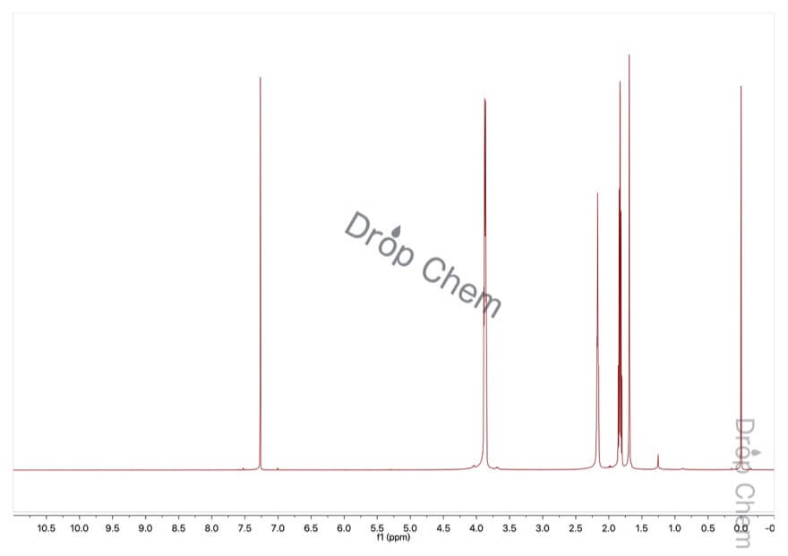 1,3-プロパンジオールの1HNMRスペクトル
