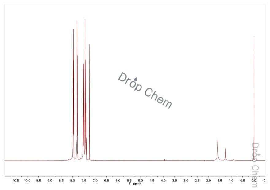 N-フェニルフタルイミドの1HNMRスペクトル