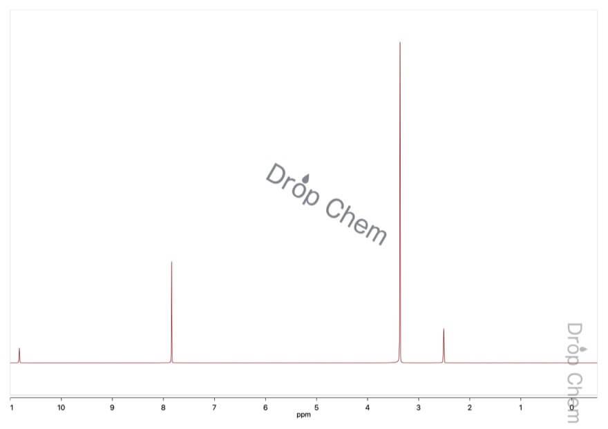 N-ヒドロキシフタルイミドの1HNMRスペクトル(DMSO-d6)
