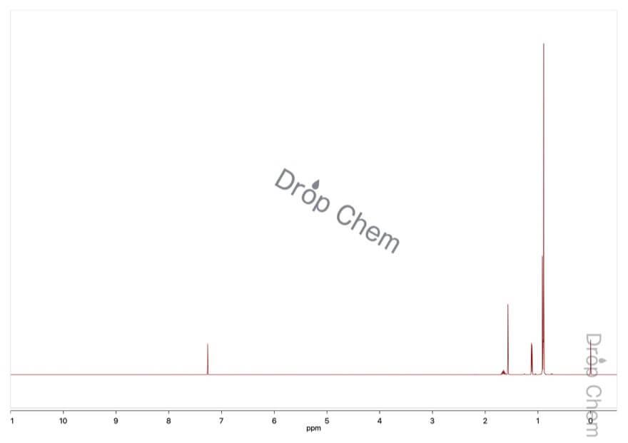 2,2,4-トリメチルペンタンの1HNMRスペクトル