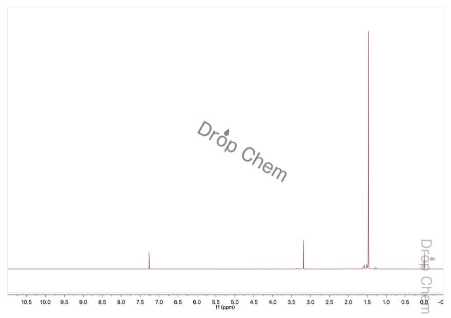 マロン酸ジ-tert-ブチルの1HNMRスペクトル