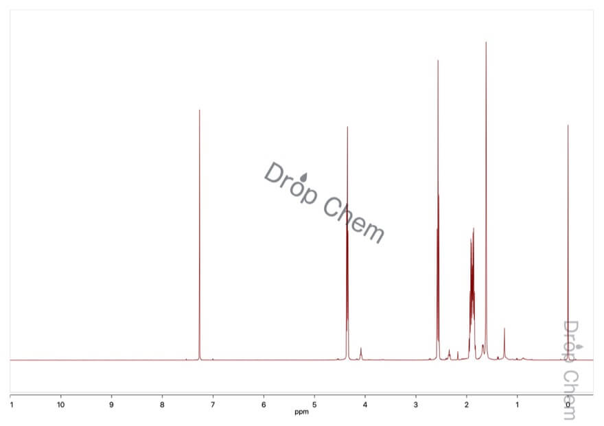 δ-バレロラクトンの1HNMRスペクトル